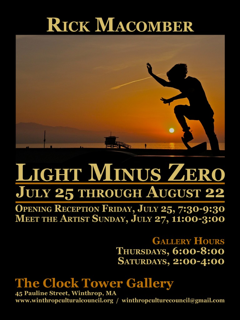 """LIGHT MINUS ZERO"" Photography Exhibit"